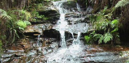 A waterfall near Leura